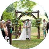 Have Blue Ridge Catering cater your wedding at Sundara.