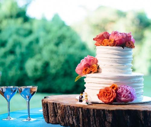 Wedding Cake custom made in VA.