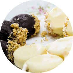 A selection of wedding desserts from Blue Ridge Catering