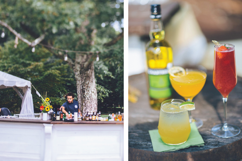local flavors and wedding drinks